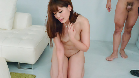 Arisa Ando provides Asian blow job in sensual ways