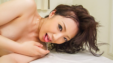 Ayane Okura getting pounded in nasty threesome
