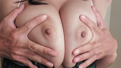 Big tits milf enjoying naughty anal masturbation