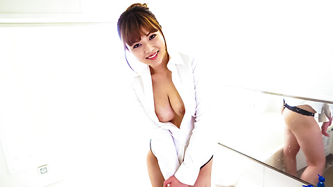 Flaming solo adventure along hot Asian amateur babe