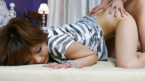 Hot asian blowjobs from Misa Kikouden gets her laid
