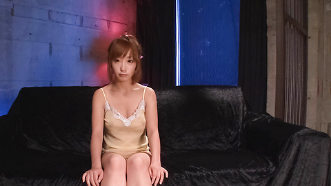 Hot asian bukkake sex while Sana Anzyu masturbates