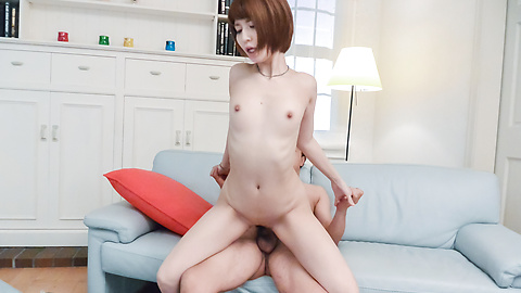 Perfect Asian creampie videos with Risa Mizuki